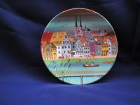 Poole Pottery Transfer Plate 436 Scene VI available for shipping today!